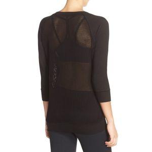 Beyond Yoga Mesh Back Pullover Sweatshirt